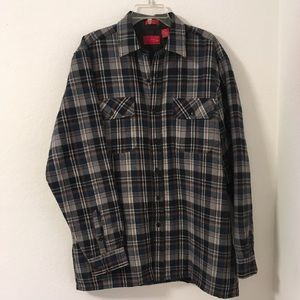 Coleman Jacket Plaid Wool with Warm Quilted Lining